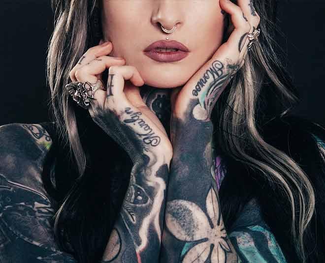 woman tattoo health big ()