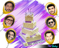 bollywood stars cake birthday SRK thumnail