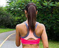 sports bra comfortable fitness workout exercise thumbnail image