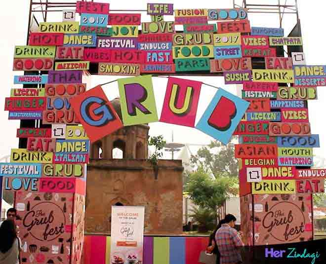 the grub fest welcome gate