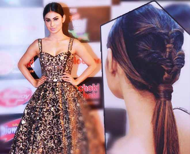 Partywear Hairstyle Homemade Retro Hairstyle