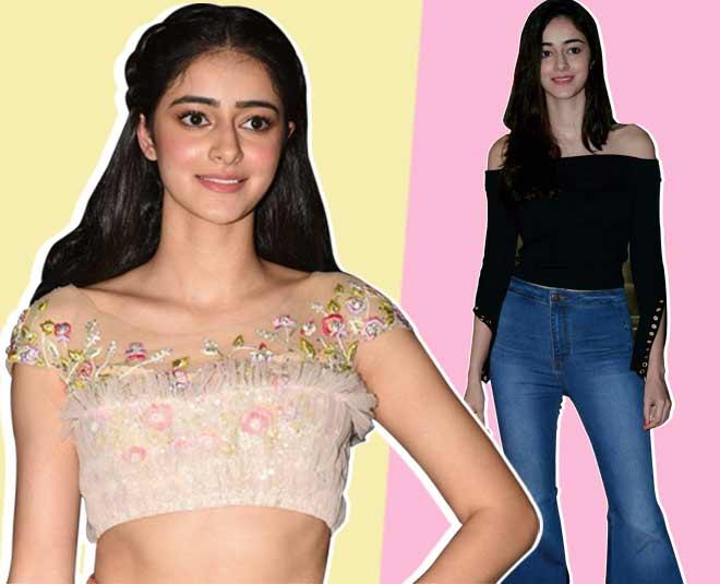 Student of the year actress chunky pandey daughter ananya pandey have good fashion sense   ()
