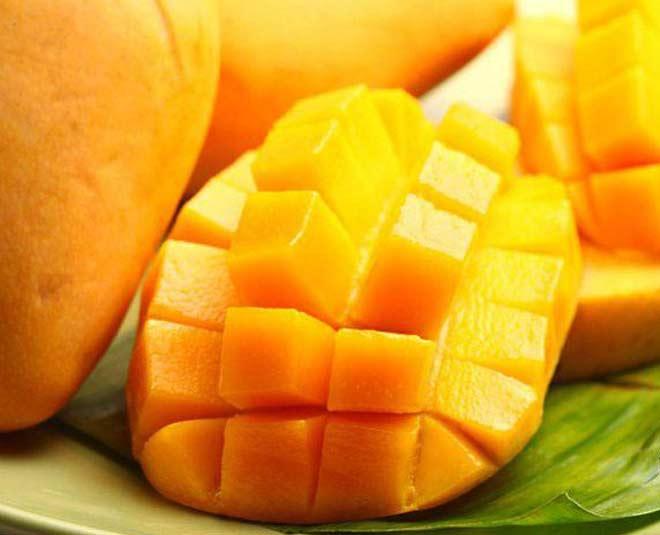 diffrent veriety mango fruit summer main