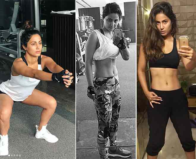 Image result for hina khan with gym