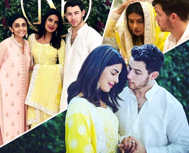 priyanka chopra and nick jonas engagement ceremony pictures
