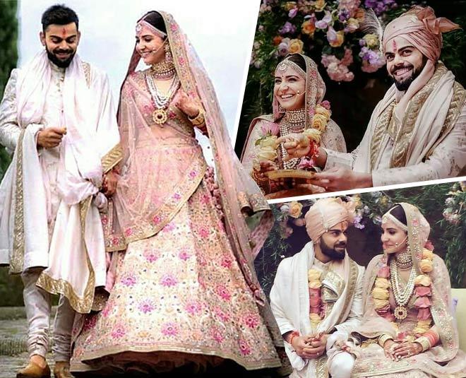 anushka sharma shares her unseen wedding album, virat kohli become romantic