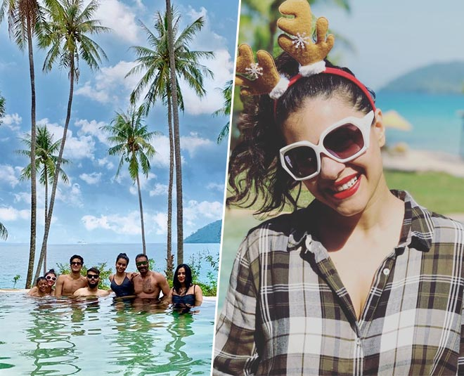 Kajol enjoying new year vacations at thailand with family see pictures