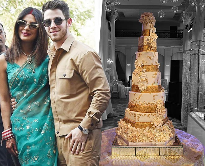 Nick Jonas Wedding Cake Priyanka Chopra And Nick Jonas Say Their