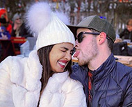 Priyanka chopra and nick jonas new year switzerland trips romantic pictures