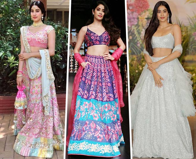 bollywood actress jhanvi kapoor glamorous blouse design main