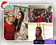 bollywood stars christmas celebration inside pictures thumb