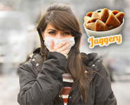 jaggery for pollution ()