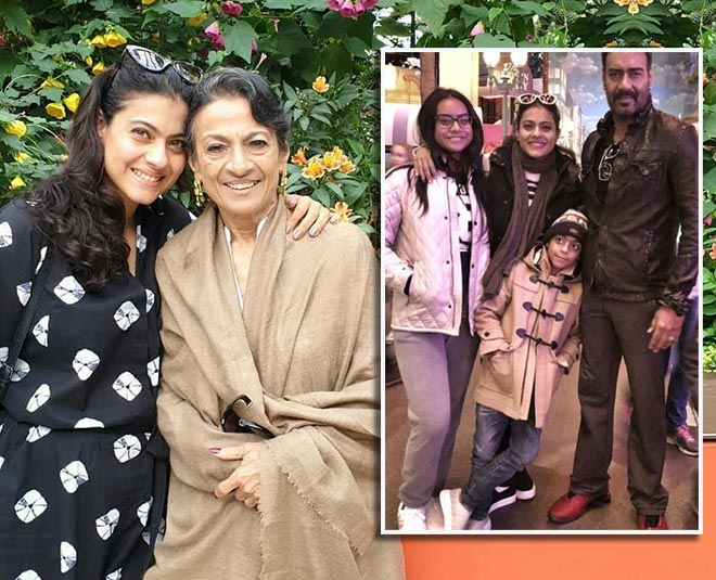 kajol on mom tanuja and her parenting main