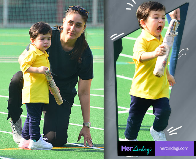 kareena kapoor saif ali khan son taimur won gold medal sports day main