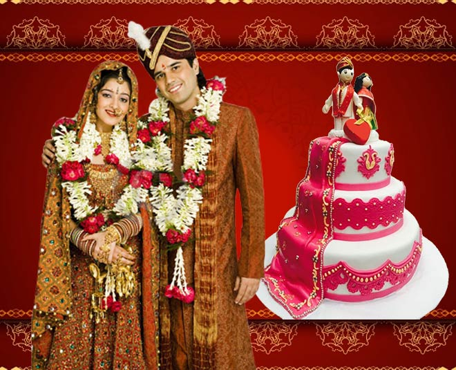 pre and post wedding cake idea main