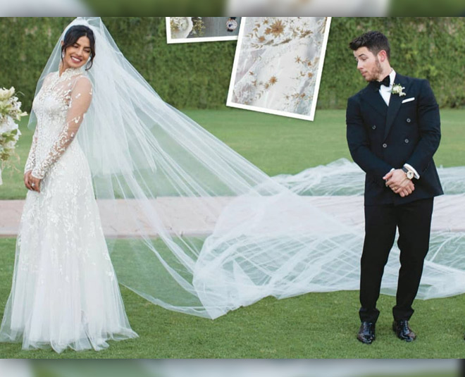 priyanka chopra have these eight special words embroidered on her wedding gown  ()