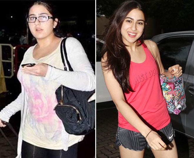 sara ali khan weight loss inspiring inside