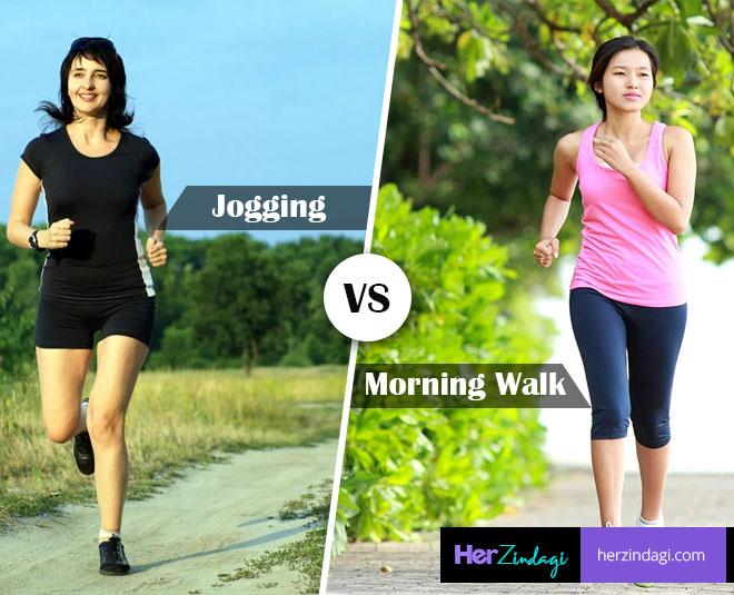walking vs jogging