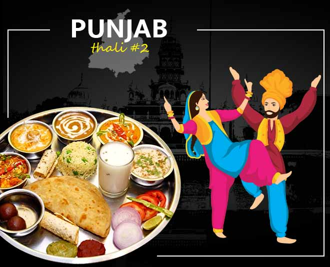 Punjabi cuisine thali food article