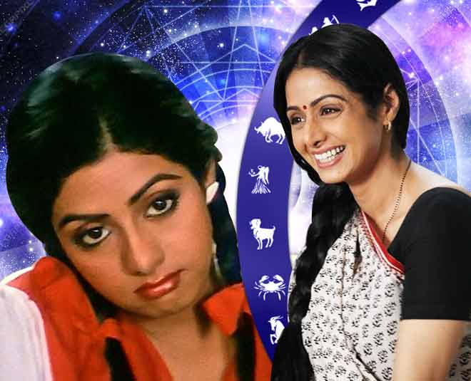 according to your zodiac sign which role of Sridevi will perfect for you  ()