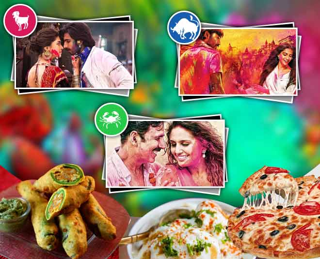 holi zodiac bollywood food main
