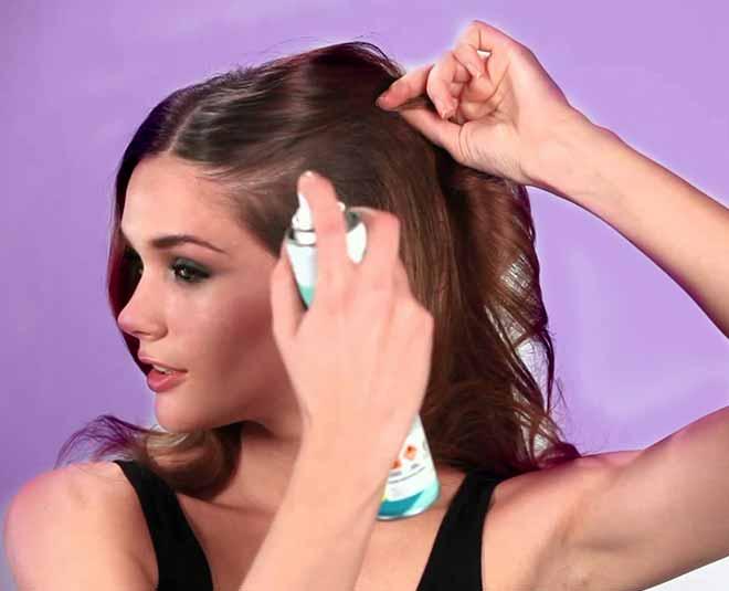 morning beauty hacks dry shampoo