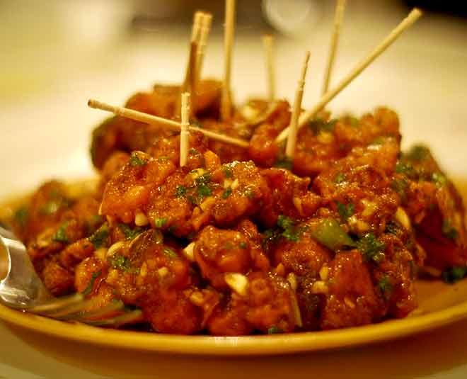 Chinese food veg manchurian artcile