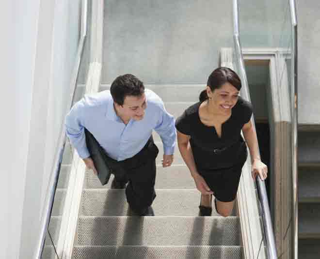 Exericse office stairs walking