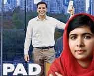 Malala Yousafzai Trolls in Pakistan after Photoshoot With Sanitary Napkins thumnail