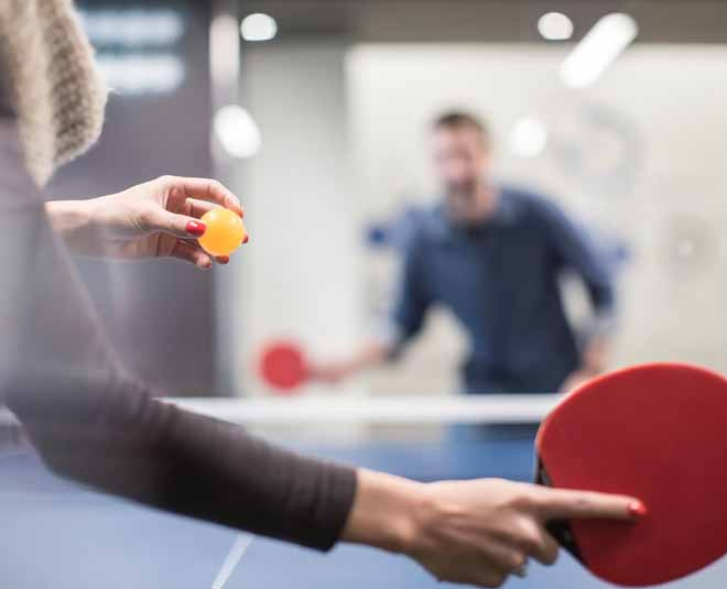 Table tenis office exercise
