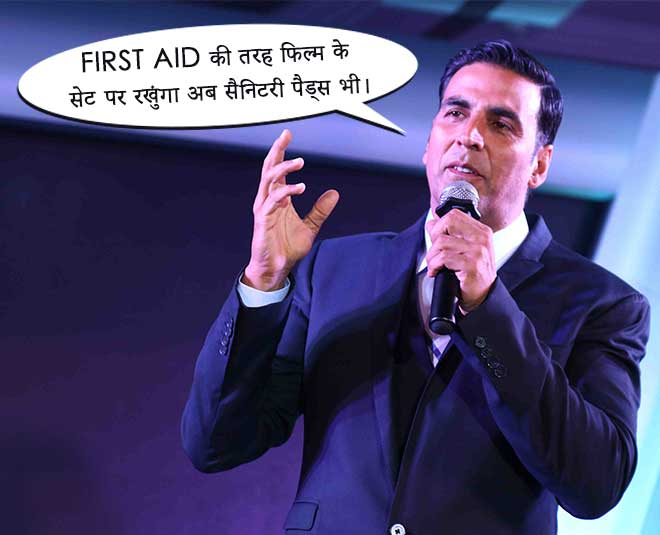 akshay kumar views on period leave big