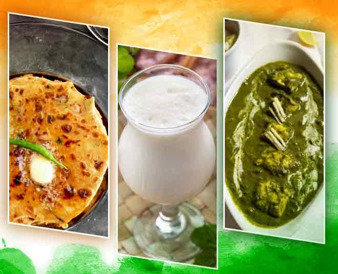 republic day food tricolor big