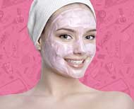 yogurt besan beauty mask video thumnail