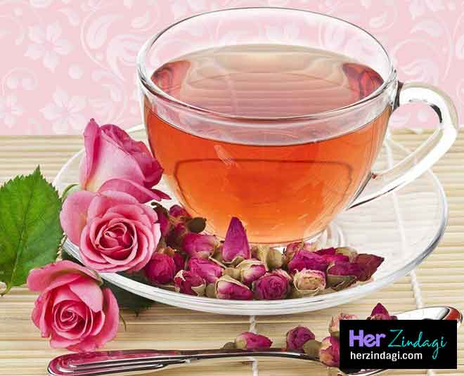 Learn how to make rose tea at home