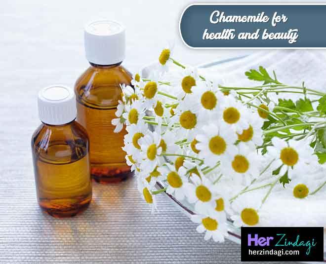 Chamomile For Skin Health