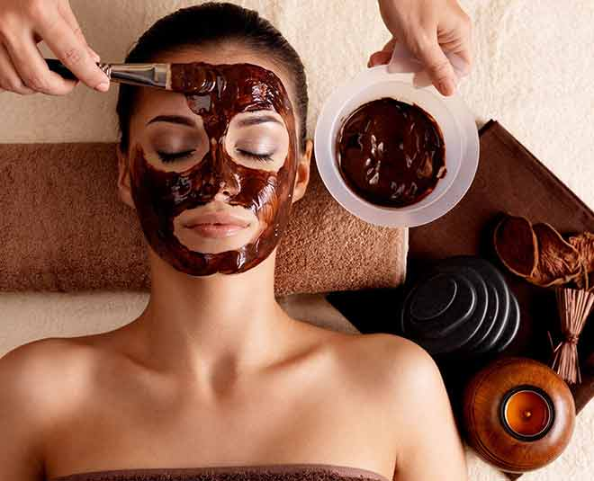 chocolate scrub and face pack at home