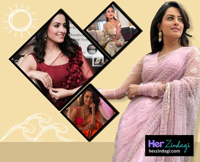 anita hassanandani saree look article