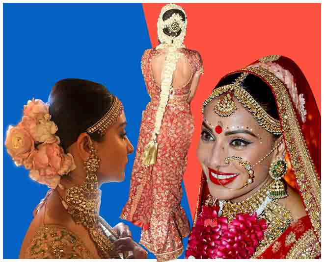 bollywood bridal hair style article