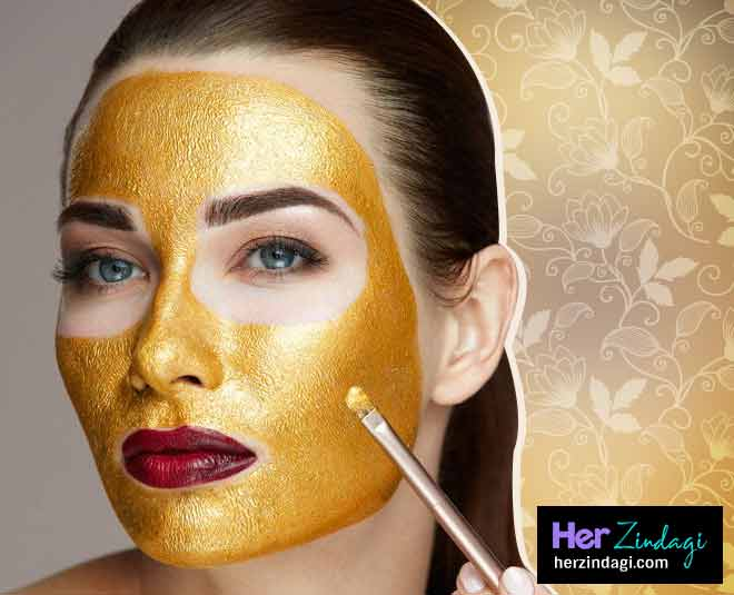 ghar baithe kre gold facial main