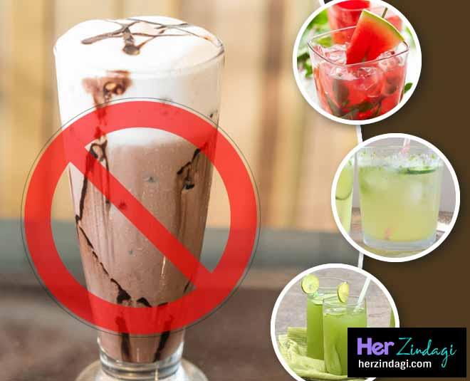 summer mocktail drinks instead of coffee main
