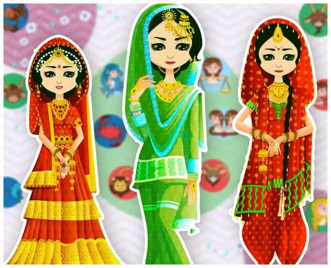 bride according to zodiac sign  march main