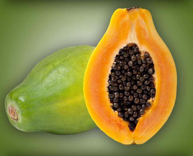 papaya for underarms