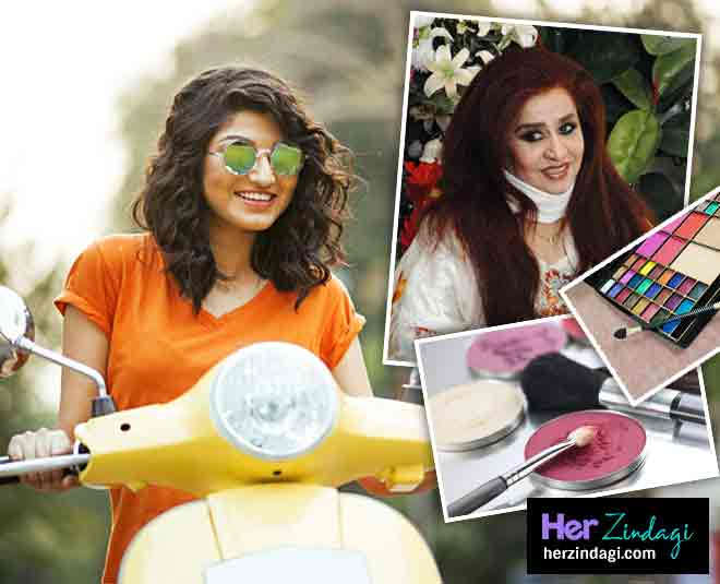 Beauty expert Shahnaz husain tips for cosmetic packing during travel in summer makeup