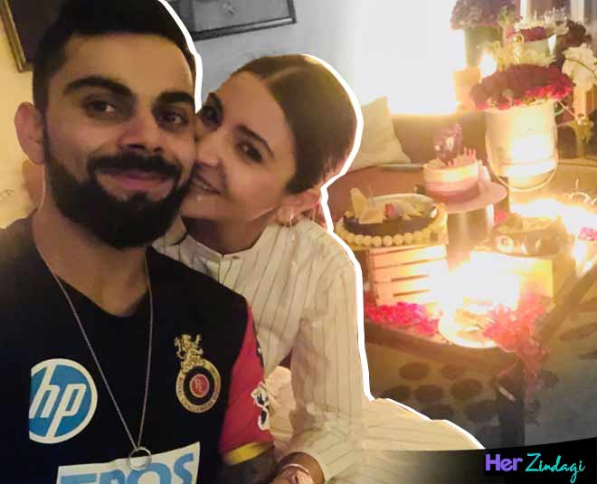 anushka birthday virat  surprise