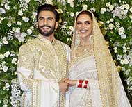 deepveer mumbai reception look