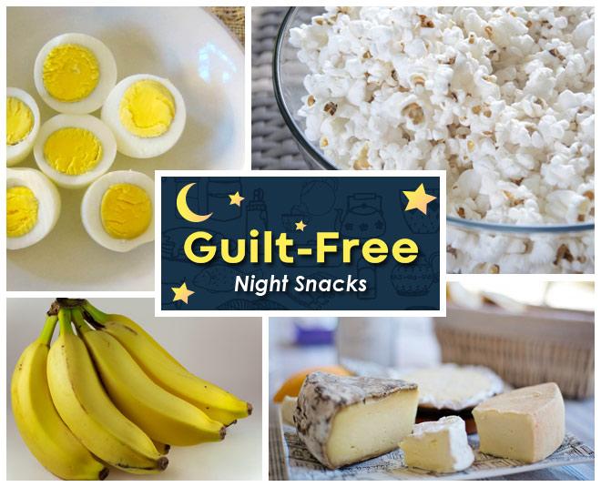 guilt free night snacks
