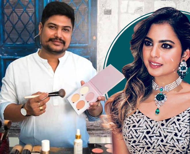 isha ambani makeup artist vardan nayak pre bridal beauty tips article