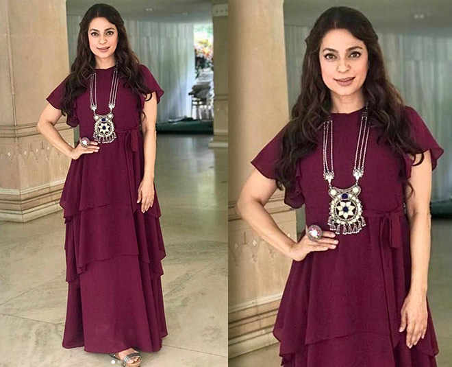 At 51, Juhi Chawla Is Fit And Stylish