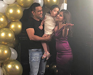 sakshi dhoni birthday party inside pictures thumb