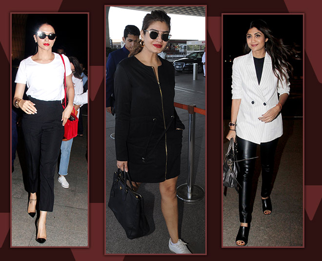 shilpa shetty airport look card ()